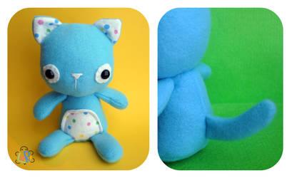 BabyKitty Plush by LoRi-La-Tortuga