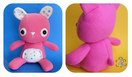 BabyBunny Plush by LoRi-La-Tortuga