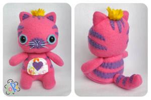 pink tiger by LoRi-La-Tortuga