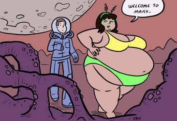 Commission: Mars Needs Men 3/4 by poundforpoundcake