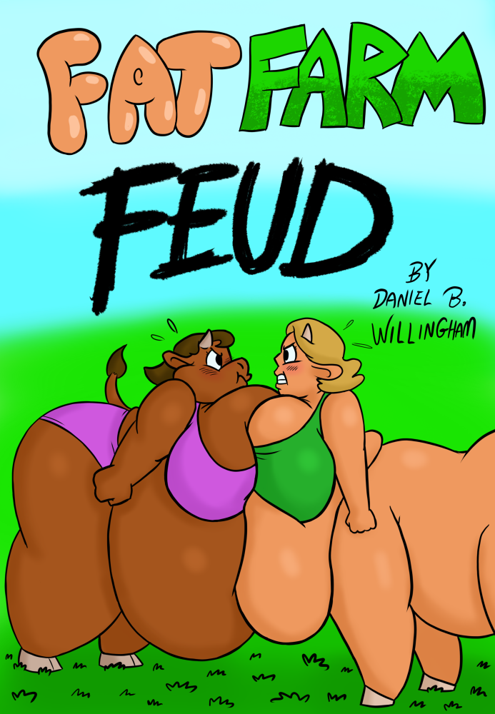 Fat Farm Feud comic by poundforpoundcake