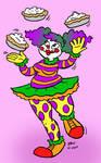 Clown Girl 2/6