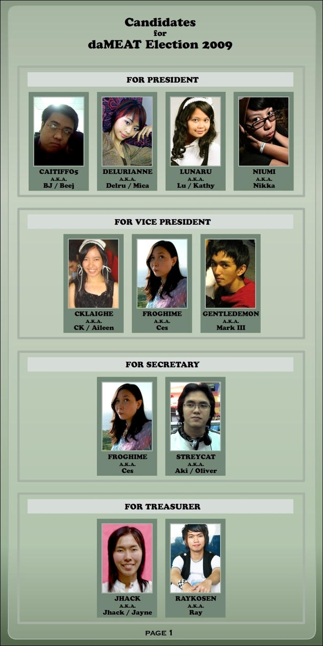Election Candidates 2009-Page1 by daMEAT