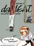 daMEAT komikon poster by daMEAT