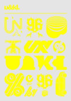 U and KL Letraset