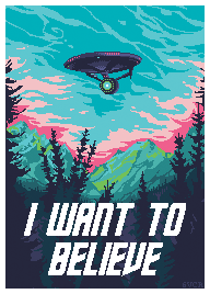 I WANT TO BELIEVE by 6VCR