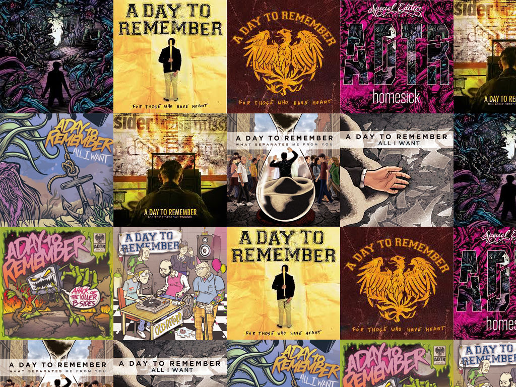 A Day To Remember Wallpaper By Nobodyofme On Deviantart