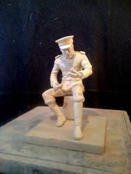 Naval officer by ZABUYAN