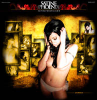 SatinePhoenix.com Home Page by cynicdesign