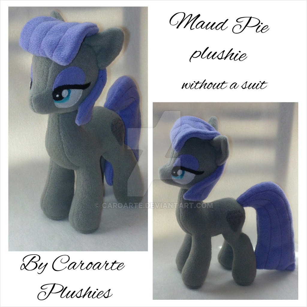 Maud Pie Plushie, without a suit by caroarte
