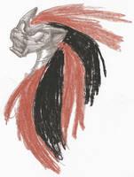 The evil robot unicorn D: by Kitera-kun