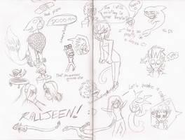 Doodle doom by Kitera-kun