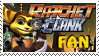 Ratchet and Clank Fan Stamp - resubmitted by LombaxFan