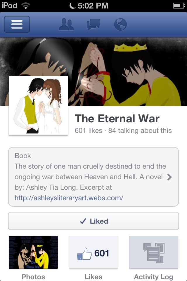 The Eternal War by VampObsessed
