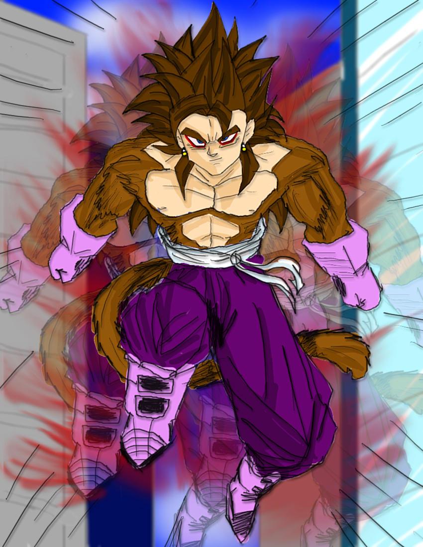 Goku Vegeta Super Saiyan 10