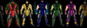 Mortal Kombat Ninjas by dskemmanuel