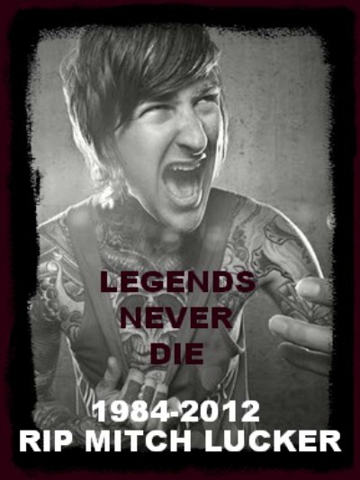 Rip Mitch Lucker RIP Mitch Lucker by Me...
