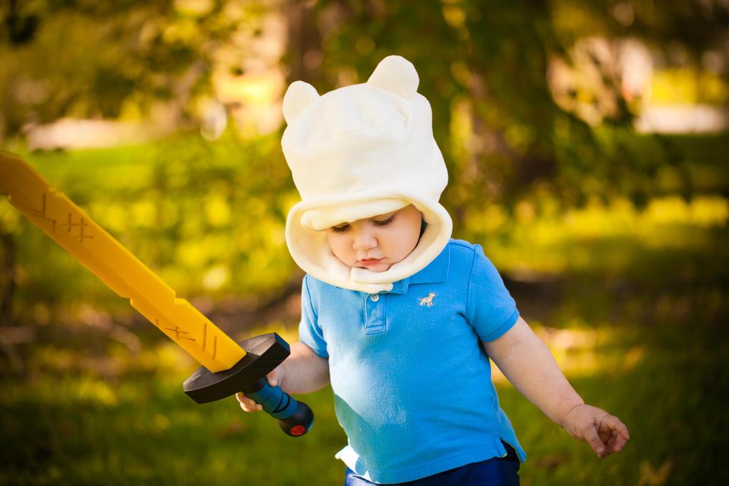 Adventure Time   Finn Cosplay (baby) by jmnettlesjr
