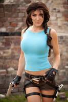 Lara Croft Cosplay | Kristen Hughey by jmnettlesjr