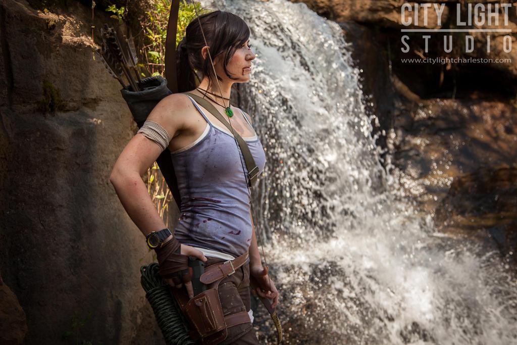 Lara Croft cosplay   Tara Cash by jmnettlesjr