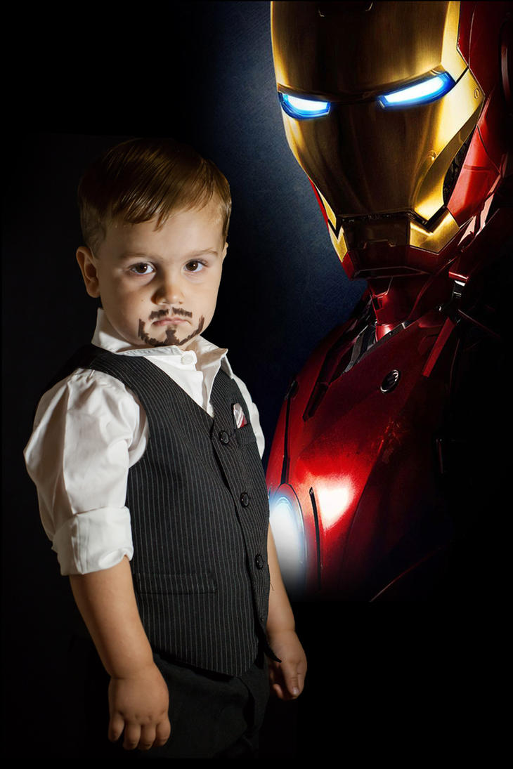 Toddler Tony Stark V02 by jmnettlesjr