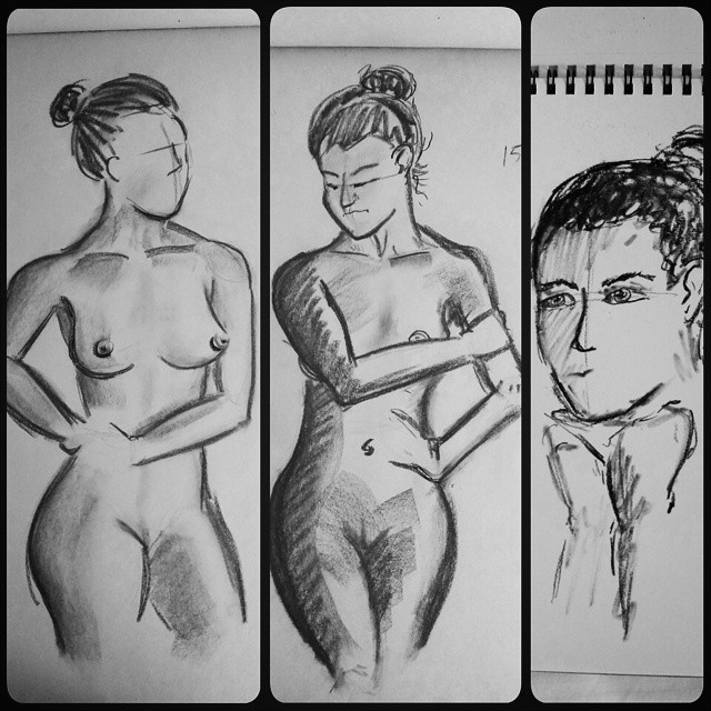 Figure Drawing | Charcoal by jmnettlesjr