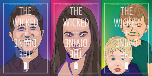 The Wicked + The Divine custom covers