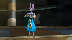 Fighter z Beerus for MMD