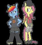 Rainbow Dash always dresses in style