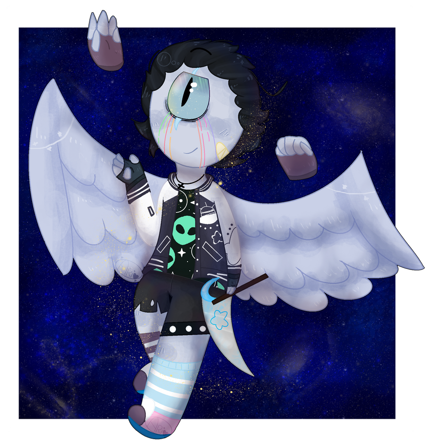 An angel way home by arimiky18