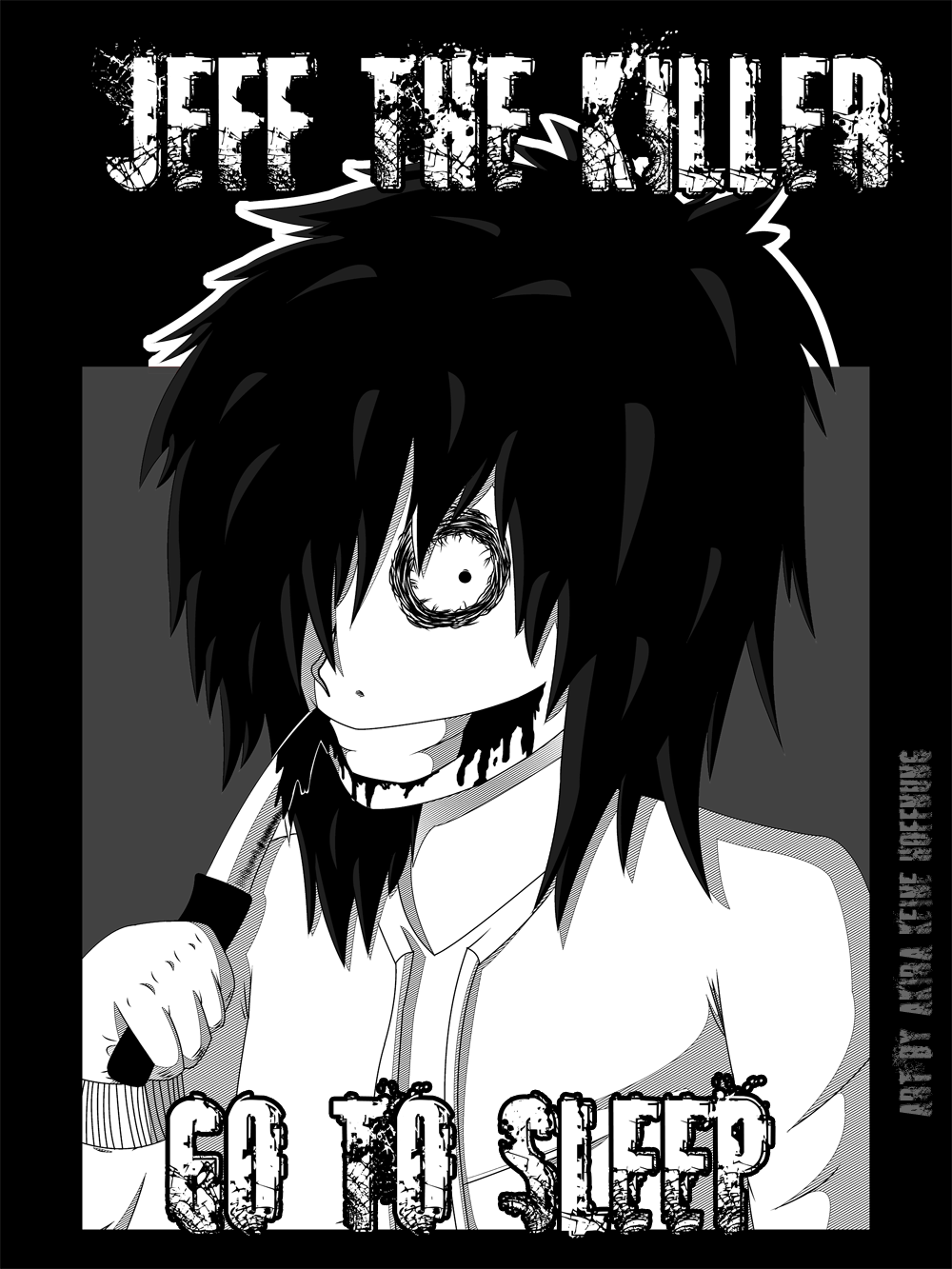 Jeff The Killer by Dye-Macabre