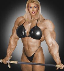 Muscle Goddess by Morphdogen