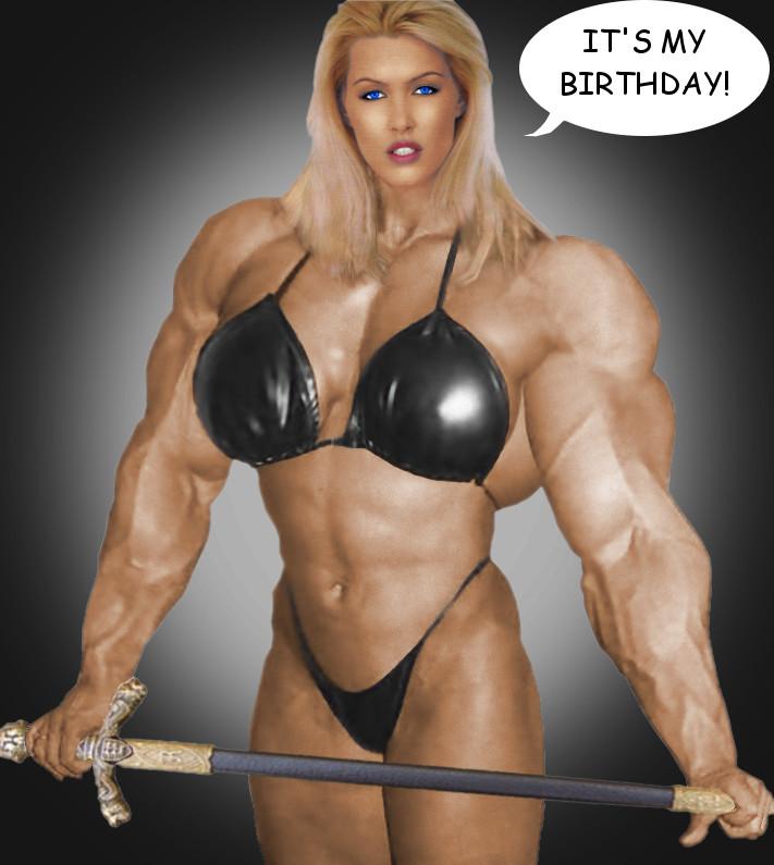 Muscle Goddess-Birthday-edition by Morphdogen