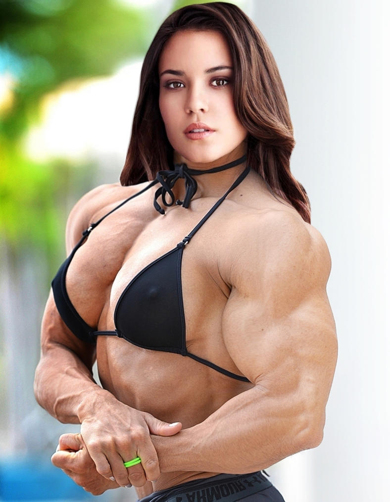Odette Muscled Up By Turbo99-edited by Morphdogen