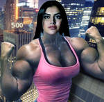 FemaleMuscleMorphs 500 Members! by Morphdogen