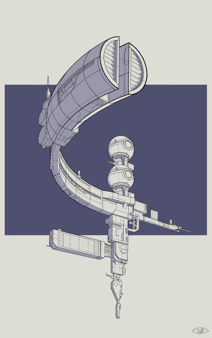 ''Mercury''station by Vazirgaizullin