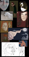 Unfinished Paintings by arwenpotter