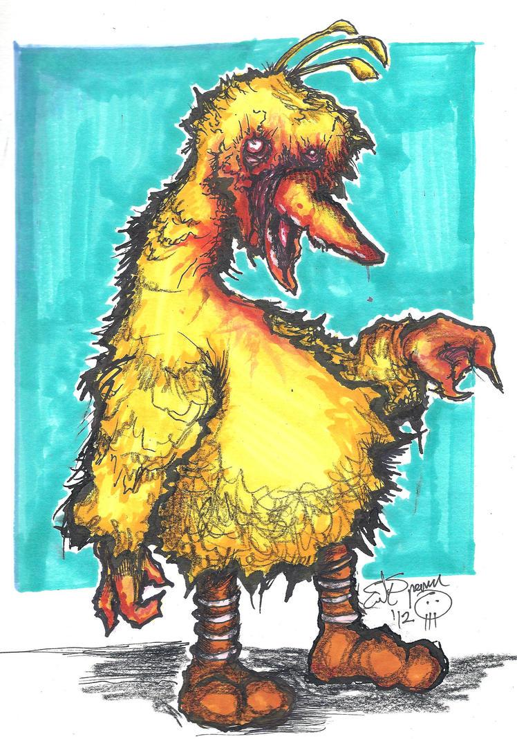 Big Bird!!! by Papierschnitt