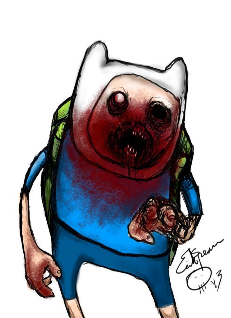 Adventure Time  by Papierschnitt