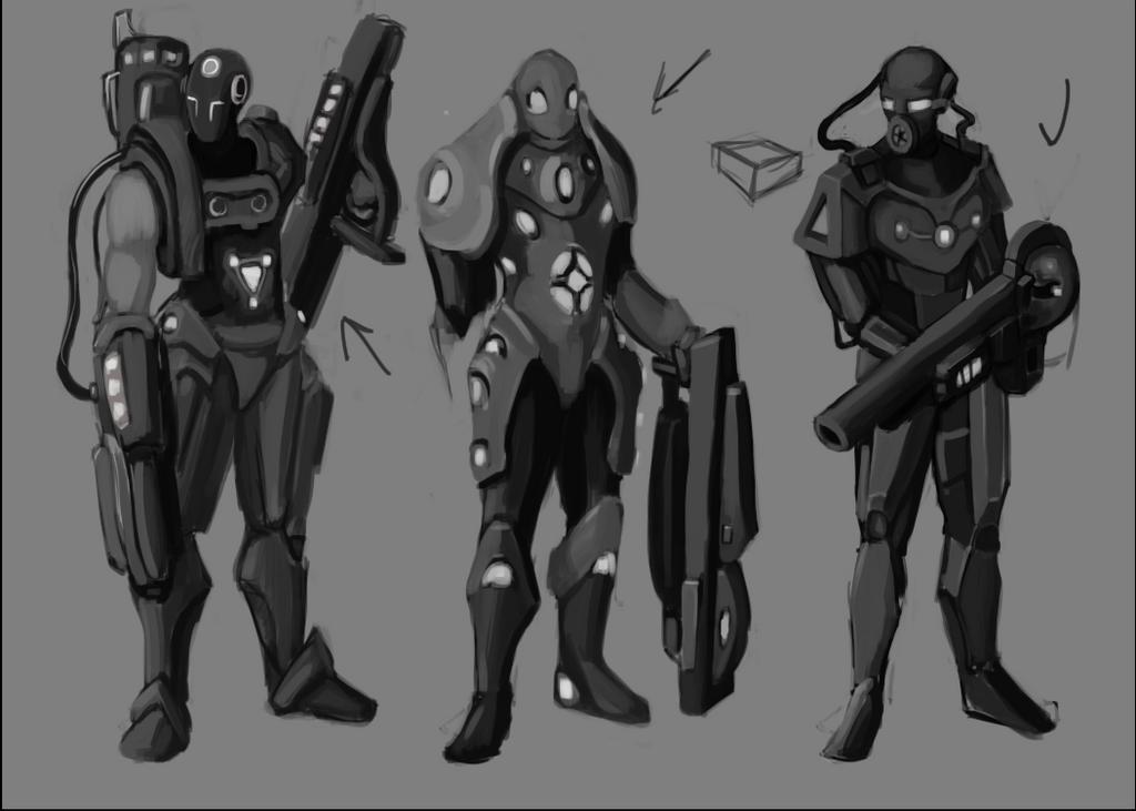 Futuristic Armor Concept by Scianami on DeviantArt