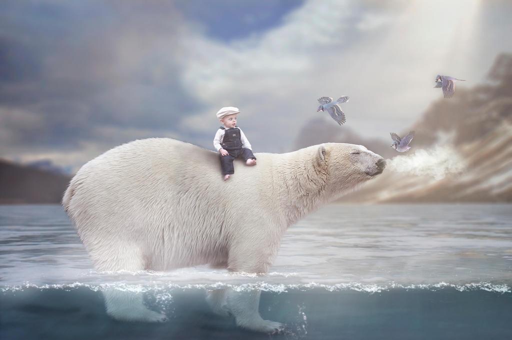 Warm polar rays by laura2lyn4