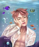 Underwater V by taekuyaki