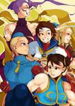 Street Fighter Alpha ladies