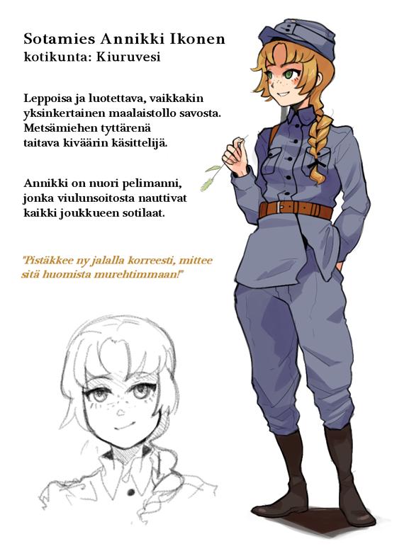 Annikki by Essu