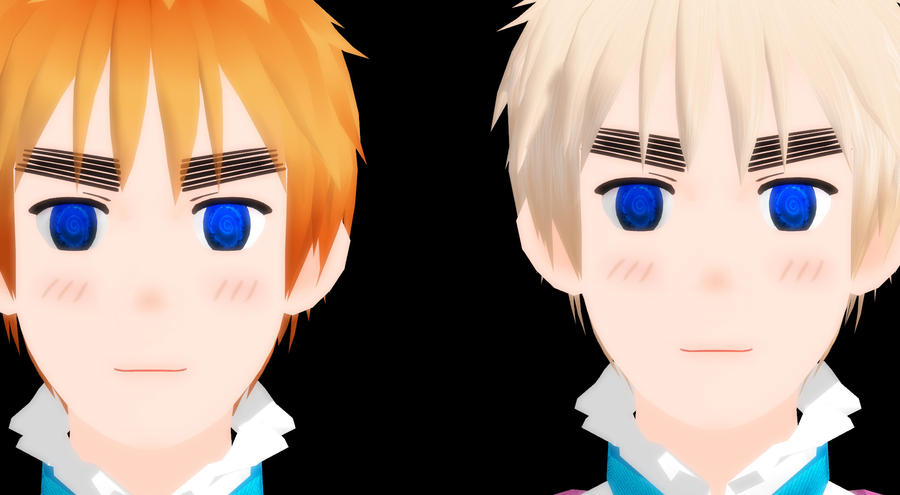 Which Hair Colour? 2P England by Quincy1313