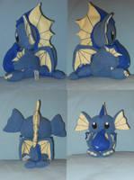 Katsumi: The Water Dragon by PlushPrincess