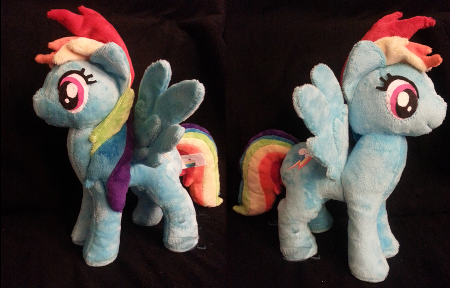 The New Rainbow Dash! by PlushPrincess