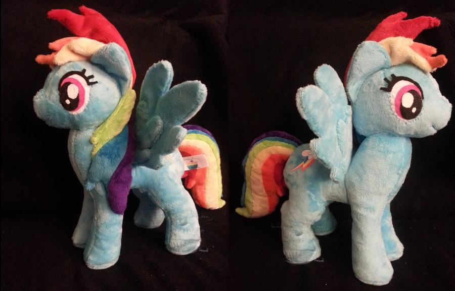 The New Rainbow Dash! by PlushPrincess