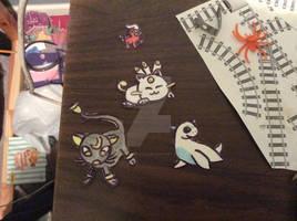Beta pokemon stickers