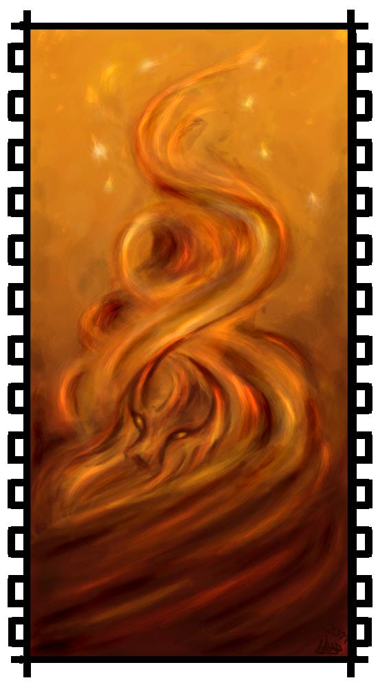 A Fire Spirit's Rising by Cerasyl